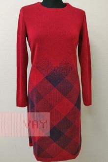 Платье женское 182-2388 Фемина (Кармин/цикламен)
