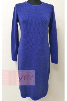 Платье женское 182-2370 Фемина (Звездный/мокрый асфальт)