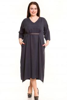 Платье 638 Luxury Plus (Темно-синий)