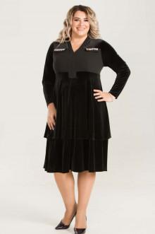 Платье 658 Luxury Plus (Черный)