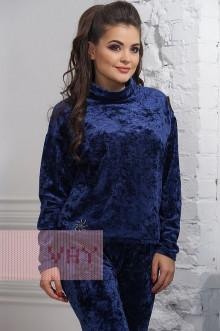 """Спортивный костюм """"Фемина"""" 3351 (Темно-синий)"""