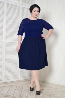 Платье 099202 ЛаТэ (Темно-синий)
