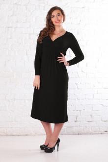 Платье 077401 ЛаТэ (Черный)