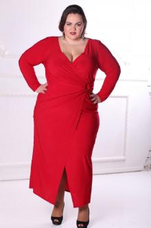 Платье 088604 ЛаТэ (Марсала)