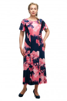 """Платье """"Олси"""" 1705049/1 ОЛСИ (Розовый)"""