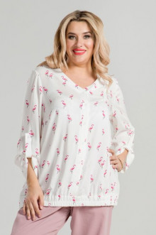 Блузка 861 Luxury Plus (Белый)